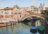 Venezia, calle con bache