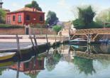 Venezia con casa rossa